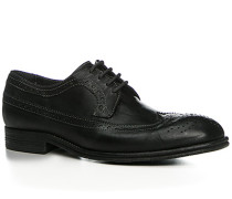 Schuhe Budapester, Rindleder genarbt