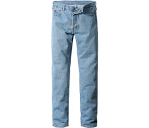 Jeans Standard Fit Baumwolle hellblau