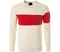 Pullover, Wolle, creme