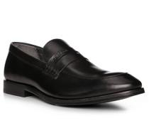 Schuhe Slipper, Leder