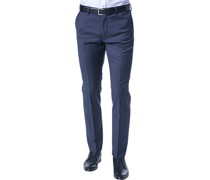 Hose, Slim Fit, Schurwolle Super100