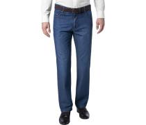 Blue-Jeans, Perfect Cut, Baumwoll-Stretch