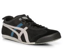 Schuhe Sneaker, Leder, nachtblau