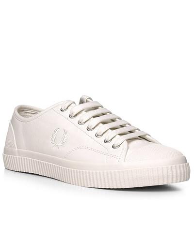 Fred Perry Herren Schuhe Sneaker, Leder, ecru