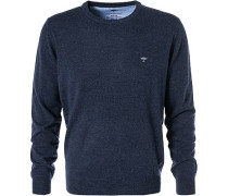 Pullover, Wolle-Kaschmir, dunkelblau