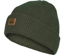 Mütze, Mikrofaser, dunkelgrün