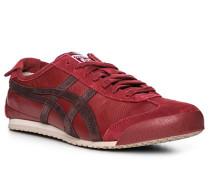 Schuhe Sneaker, Leder, bordeaux