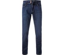 Blue-Jeans, Modern Fit, Baumwolle