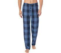 Pyjamahose Herren, Stoff