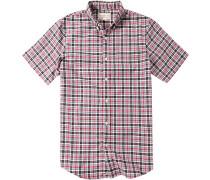 Hemd, Baumwolle, -schwarz kariert