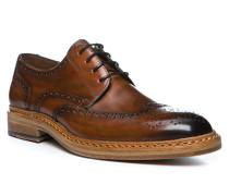 Schuhe Brogue Wheeler, Glattleder