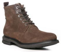 Schuhe Stiefelette, Veloursleder