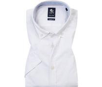 Hemd, Modern Fit, Baumwolle-Leinen