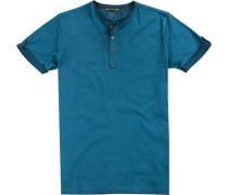 T-Shirt, Baumwolle, petrol
