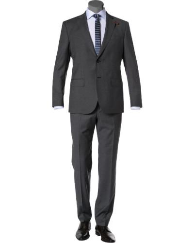 Anzug, Schurwolle Super120, meliert