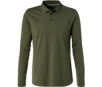 Polo-Shirt Polo, Baumwoll-Jersey, lindgrün