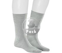 Socken Socken, Schurwolle, hellgrau
