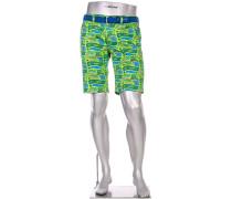 Hose Bermudashorts Earnie Fancy, Regular Slim Fit, Baumwolle