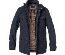 Fieldjacket, Baumwolle, navy