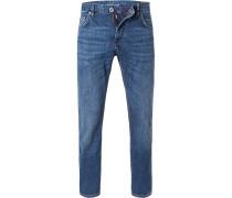 Jeans, Regular Fit, Baumwoll-Stretch 10,5 oz
