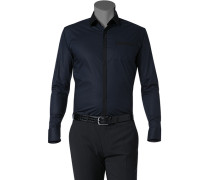 Hemd, Ultra Slim Fit, Popeline