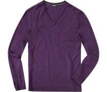 Pullover, Slim Fit, Schurwolle