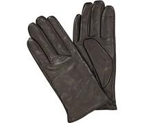 Handschuhe, Lammeder, dunkelbraun