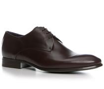 Schuhe Derby, Kalbleder glatt
