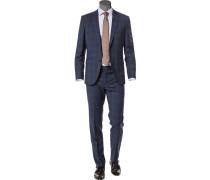 Anzug, Regular Fit, Schurwolle Super100