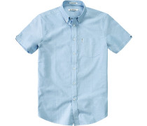 Hemd, Regular Fit, Oxford, hellblau