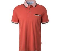 Polo-Shirt Polo, Baumwoll-Piqué, lachs