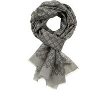 Schal, Baumwolle-Seide, gemustert