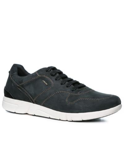 Geox Herren Schuhe Sneaker, Nubukleder Respira®