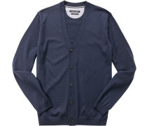Cardigan, Shaped Fit, Schurwolle