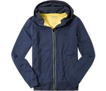 Jacke, Modern Fit, Baumwolle, dunkelblau