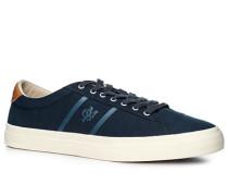 Schuhe Sneaker, Twill, nachtblau