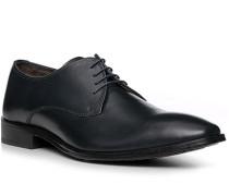 Schuhe Derby, Leder, nachtblau