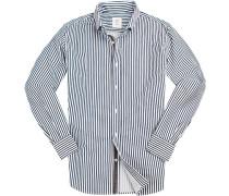 Hemd, Twill, gestreift