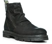 Schuhe Boots, Nubukleder, dunkelbraun