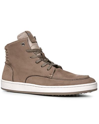 Replay Herren sportlicher Schuh, Veloursleder, taupe