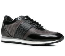 Schuhe Sneaker, Kalbleder, dunklegrau