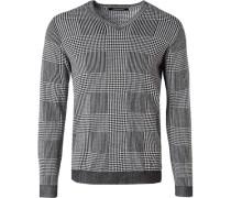 Pullover, Baumwolle-Seide
