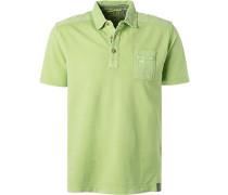 Polo-Shirt Polo, Baumwoll-Piqué, hellgrün