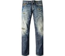 Jeans, Slim Fit, Baumwolle, denim