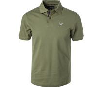 Polo-Shirt Polo, Baumwoll-Piqué, olivgrün