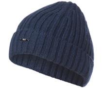 Mütze, Kaschmir-Wolle, navy