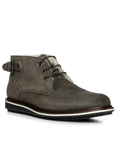 Lloyd Herren Schuhe Stiefelette, Kalbleder, graubraun
