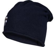 Mütze, Kaschmir, nachtblau