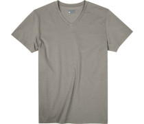 T-Shirt, Baumwolle, jägergrün