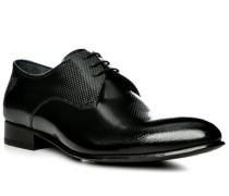 Schuhe Derby, Leder